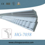 Simple Style Building Material PU Crown Cornice Moulding