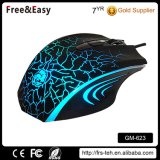 Ergonomic Medium Size Laser Engraving Logo 6D Optical Gaming Mouse