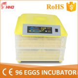2016 New Ce Marked Automatic Mini Quail Egg Incubators (YZ-96)