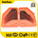 30 Piece Hex Key Wrench Combination Inch/Metric Set