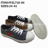 New Women Injection Shoes Canvas Shoes Wholesale (FFZL710-04)