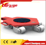 Hand Cranking Trolley Roller Hand Lever Machine Moving Skates
