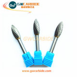 Tungsten Carbide Rotary Burrs of Double Cut