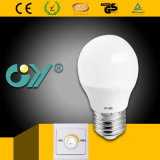 Dimmable LED Bulb 6W G45 E14 with Ce RoHS SAA
