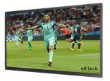 4k Big Size 98 Inch Uhd LCD Screen Display/Monitor