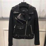 Short Leather Jacket for Women, 100%Leather Jacket, Clothing, Red, Fashion