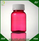 110ml Red Pet Medicine Plastic Bottle