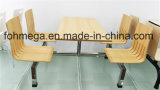 Modern School Canteen Furniture Dinging Table and Chair (FOH-CXSC44)