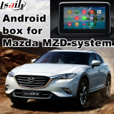 Android GPS Navigation System Video Interface Box for Mazda Series, Mirror Link, Cast Screen, Rear View, Voice Control