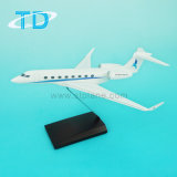 G650 1/100 Scale Resin Private Jet Model