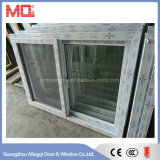 Tempered Glass Slidng PVC Window with Net