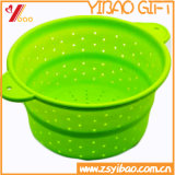 Ketchenware Easy to Clean Silicone Drain Basket with Funnel (YB-HR-23)