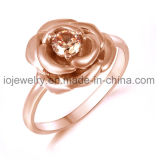 Stainless Steel Rose Ring Casting Jewelry