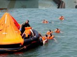 Marine Lifesaving Approved CCS/Ec Certificate 6persons Inflatable Life Raft/Float