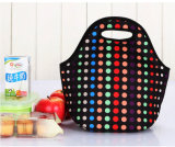 DOT Pattern Neoprene Lunch Tote Bag for Promotion