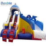 Inflatable Shark Water Slide, Used Water Park Slide Inflatable