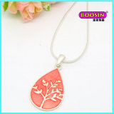 Chinese Factory Wholesale Fashion Silver Jewelry Pendant Necklace