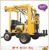 Hydraulic & Trailer Mounted Water Well Drilling Rig (HF-3)