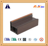 Wooden Laminated Colorful PVC Profile Competive Price
