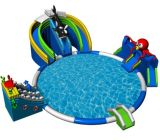 Lobster Inflatable Water Park moving inflatable water park