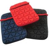 Red Grey Black EVA Emboss Laptop Shockproof Sleeve Case Tablet Pouch Neoprene Emboss Case for iPad