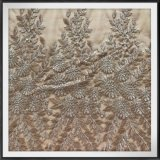 Nylon Mesh Embroidery Lace Tone to Tone Mesh Embroidery Lace