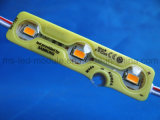 New Injection LED Module Waterproof 5730 LED Module with Lens Yellow