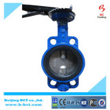 Center Line Wafer Type Butterfly Valve with Handle Bct-Wbfv-05