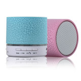 Bluetooth Wireless Handsfree Speakerphone with USB2.0 Micro SD Card Slot 3.5mm Audio Built-in Coloured LED Lights Mic Bass Subwoofer
