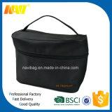 Black Nylon Travel Mens Toiletry Bag