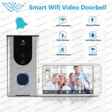 Built in Wired Audio PIR Smart WiFi Video Doorbell with Camera for Smart Phone