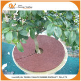Red Brown Rubber Mulch Tree Ring