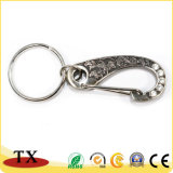 Dazzling Engrave Logo Metal Belt Dog Hook with Crystal Diamonds