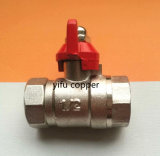 Butterfly Handle Nickeling Ball Valve