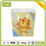 Lovely Golden Lions Baby Presents Coated Paper Shopping Gift Bag