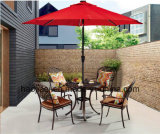 Outdoor /Rattan / Garden / Patio/ Hotel Furniture Cast Aluminum Chair & Table Set (HS3173C&HS6116DT)