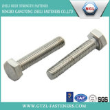 DIN 931 Plain Stainless Steel Hex Head Bolt