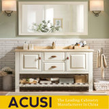 Hot Selling Modern Style Solid Wood Single Sink Bathroom Vanity (ACS1-W71)