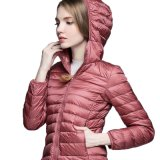 Outdoors Warm Heating Down Padded Quilted Women Ski Jacket