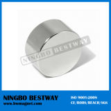 Strong Sintered Flat Disc Magnet with ISO Approved