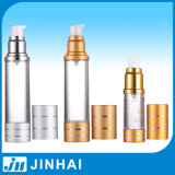 (T) Plastic Cosmetic Bottle Airless Bottle with Alimina