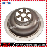 Deep Drawn Parts Customized Metal Stainless Steel Floor Drain (WW-DD003)
