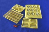 Golden Chocolate Blister Tray with Factory Price