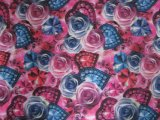 Oxford 900d Flowers Printing Polyester Fabric (011 & 012)