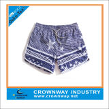 Blue 100% Polyester Men′s Funny Board Surf shorts in Xl