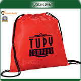 Simple Style Easy Carrying Promotion Drawstring Bag for Shopping