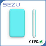 Ultra Thin High Capacity 10000mAh Rubber Oil Surface Power Bank with Dual Output