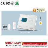 Wireless Burglar Alarm System with LCD Screen Menu