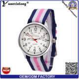 Yxl-624 New Design Slim Untra Thin Nato Bracelet Wrist Watch, Fashion Watch, Quartz Watch
