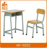 Student Studying Metal Wood School Furniture Desk Chair